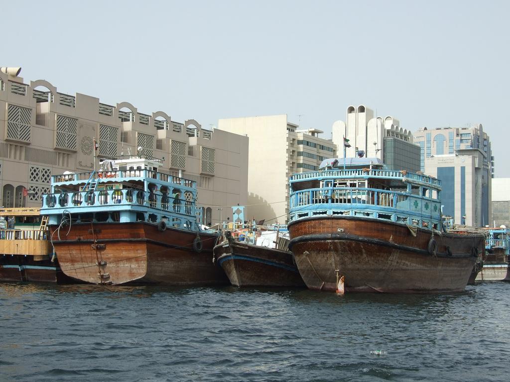 Dubai dhows