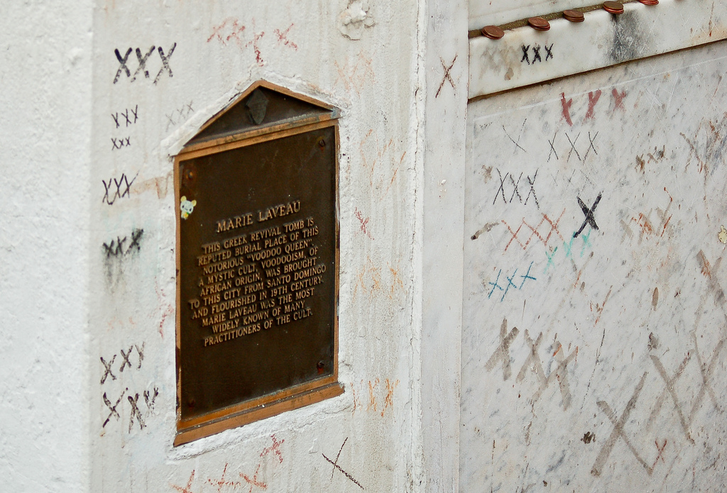 The Tomb of Marie Laveau, New Orleans