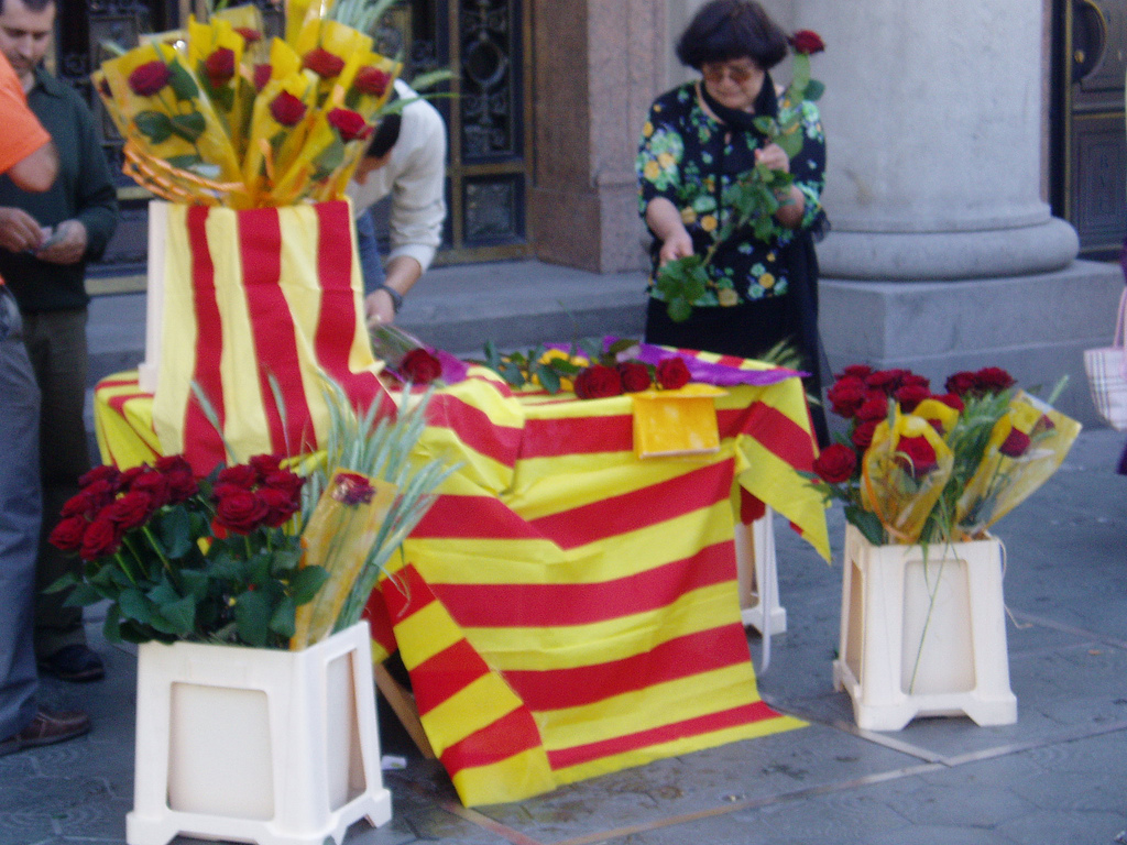 Rosas made in San Jordi