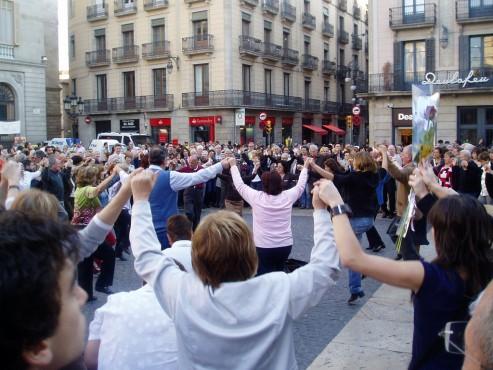 Sardanas en San Jordi