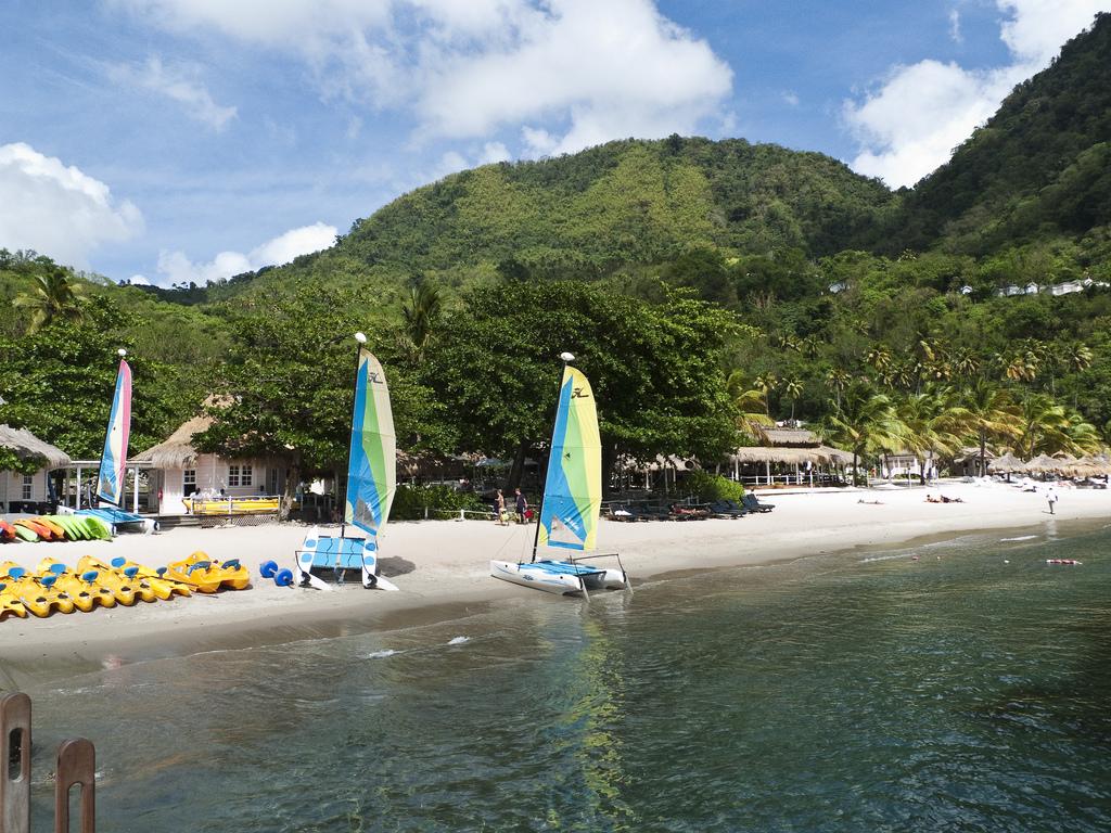 St. Lucia sugar beach