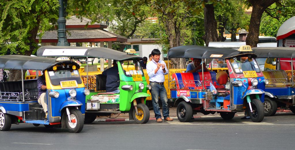 Road safety in Thailand, Bangkok